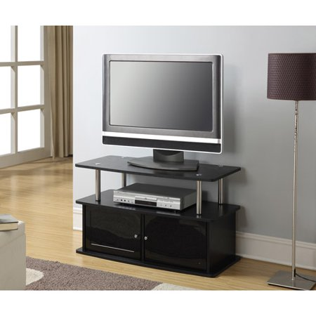 "Designs2Go"" TV Stand with Two Cabinets, for TVs up to 36″ by Convenience Concepts"