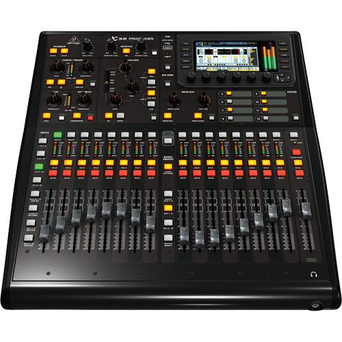 Behringer X32 Producer 40-Input, 25-Bus Rack Digital Mixing Console w/16 Preamps, 17 Faders, 32-Channel Interface and iPad/iPhone Remote Control