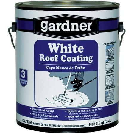 Gardner Gibson White Kote Elastomeric Roof Coating 1 Gal