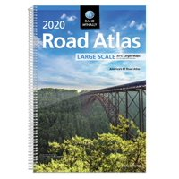 Rand mcnally 2020 large scale road atlas: 9780528021046
