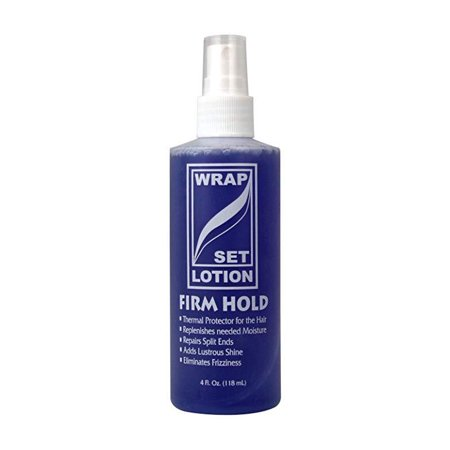 African Essence Wrap/Set Lotion, 4 Oz Product ID : 33603418289Combine Shipping ProductThis product from multiple quantities will be combined into the same package. This helps to reduce the shipping cost & the number of packages sent to you.DescriptionThis Wrap Set Lotion provides maximum styling ability, control, full body and sheen as it protects the hair against the heat of hair dryers, curling irons and other heat styling appliances. The special blend of conditioners and moisturizers penetrates the hair strands to repair split ends, seal in moisture and strengthens the hair.This Wrap Set Lotion provides maximum styling ability, control, full body and sheen as it protects the hair against the heat of hair dryers, curling irons and other heat styling appliances. The special blend of conditioners and moisturizers penetrates the hair strands to repair split ends, seal in moisture and strengthens the hair.