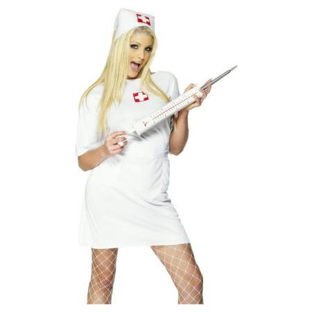 Jumbo Syringe Nurse Doctor Injection Needle Giant Costume Prop (Doctor John's Halloween Costumes)