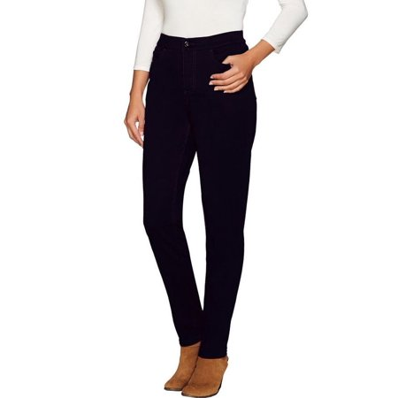 - Denim & Co How Modern Petite Denim Slim Leg Jeans A267617