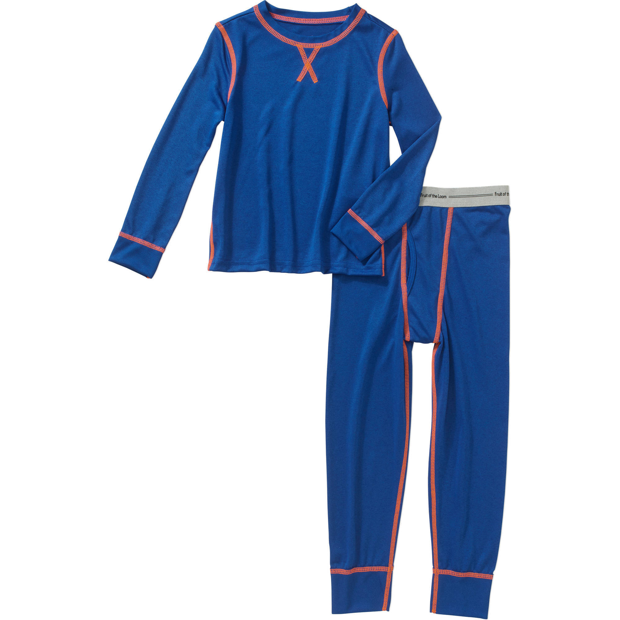 Fruit of the Loom Boys' Core Performance Thermal Underwear Set