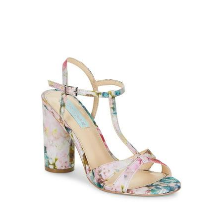 Luisa High Heel T-Strap Sandals
