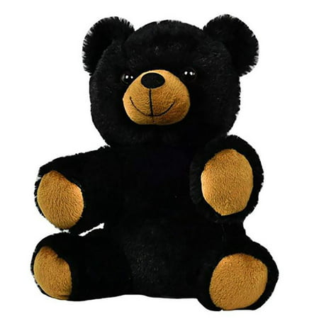 Cuddly Soft 8 inch Stuffed Black Bear...We stuff 'em...you love 'em! Graduation Soft Bear