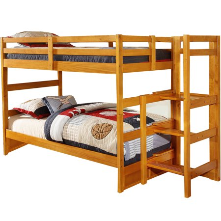 Cambridge Franklin Twin Over Twin Easy Step Bunk Bed
