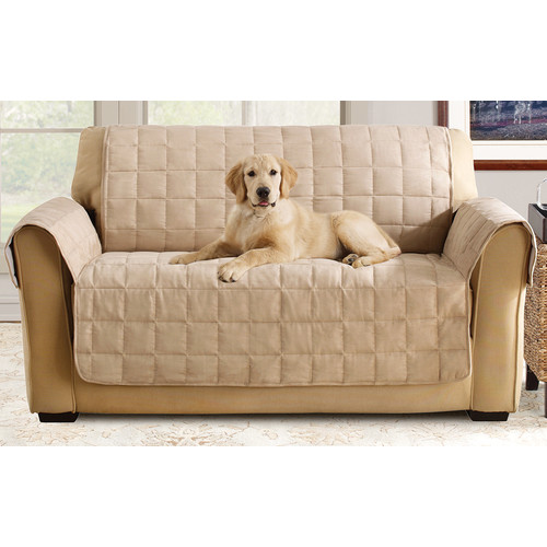 Sure Fit Ultimate Waterproof Quilted Pet Loveseat Cover