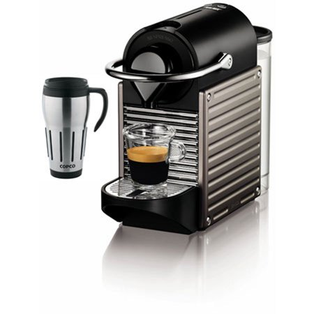 Coffee Maker Big W : Pixie Espresso Maker with Big Joe Thermal Travel Mug Bundle - Walmart.com