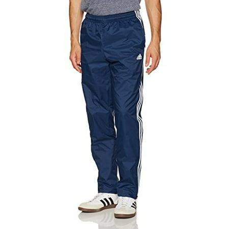Adidas NEW Blue Mens Size Large L Essential 3-Stripe Wind Stretch Sport Pant 094