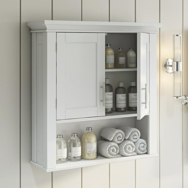 2 Door Bathroom Storage Wall Cabinet, Bathroom Wall Cabinet