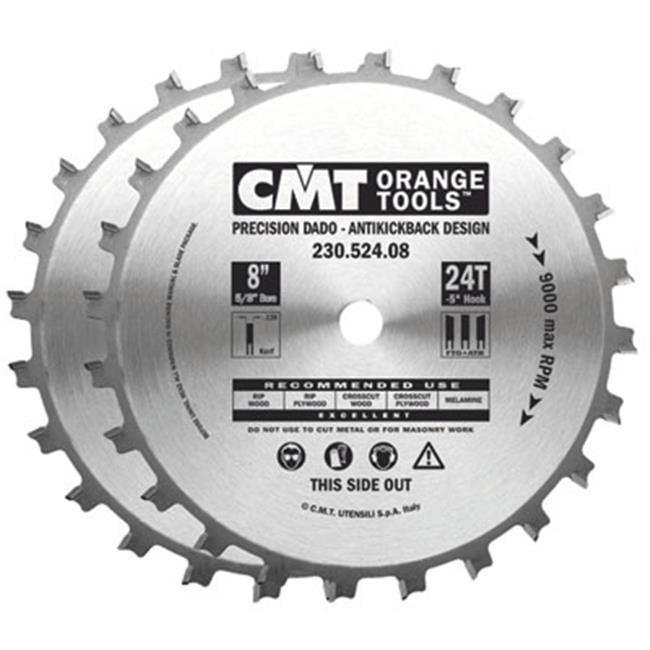 CMT230. 524. 08 CMT Precision Dado Set, 8 inch by HD