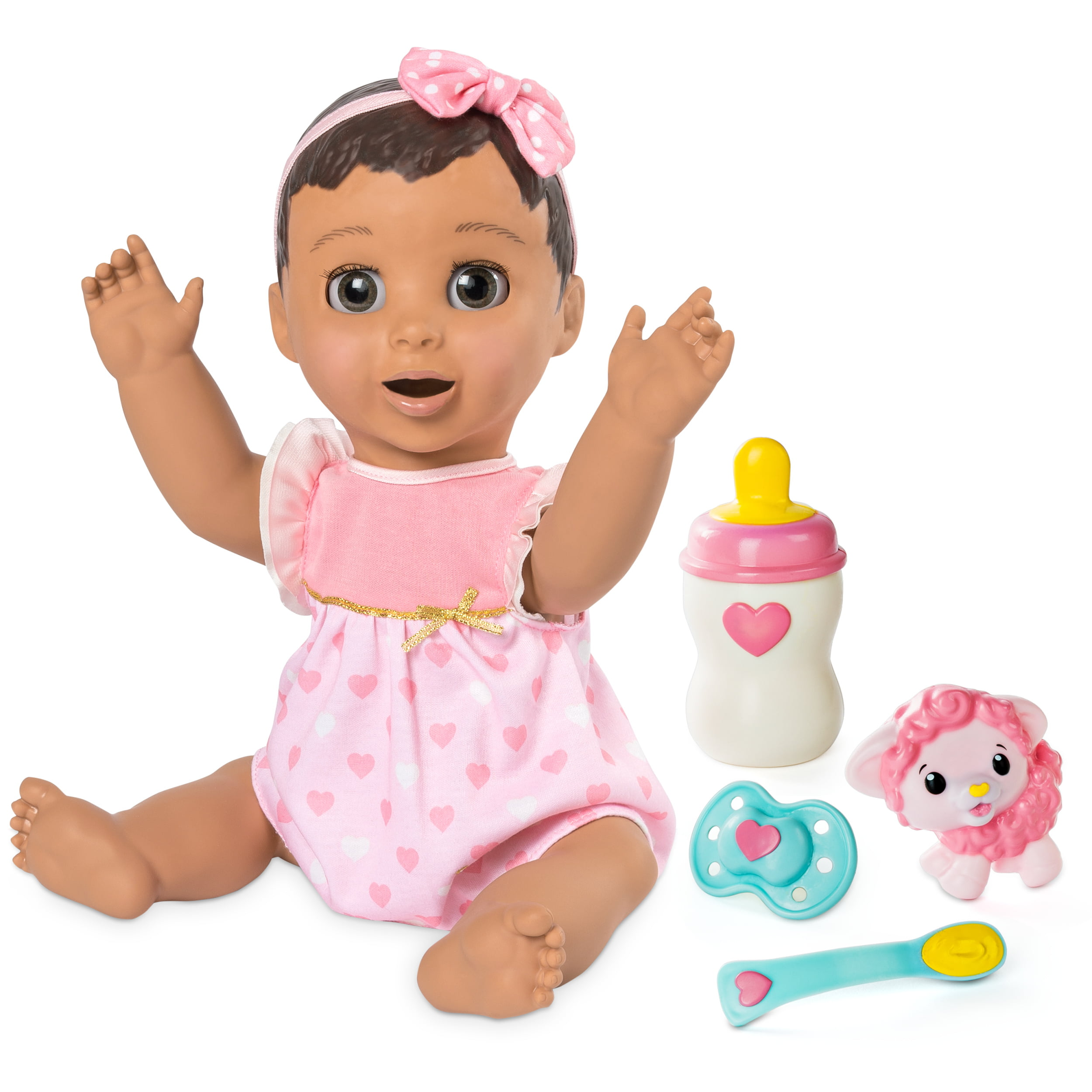 Luvabella Blonde Hair Responsive Baby Doll with Realistic Expressions and Movement by Spin Master Ltd