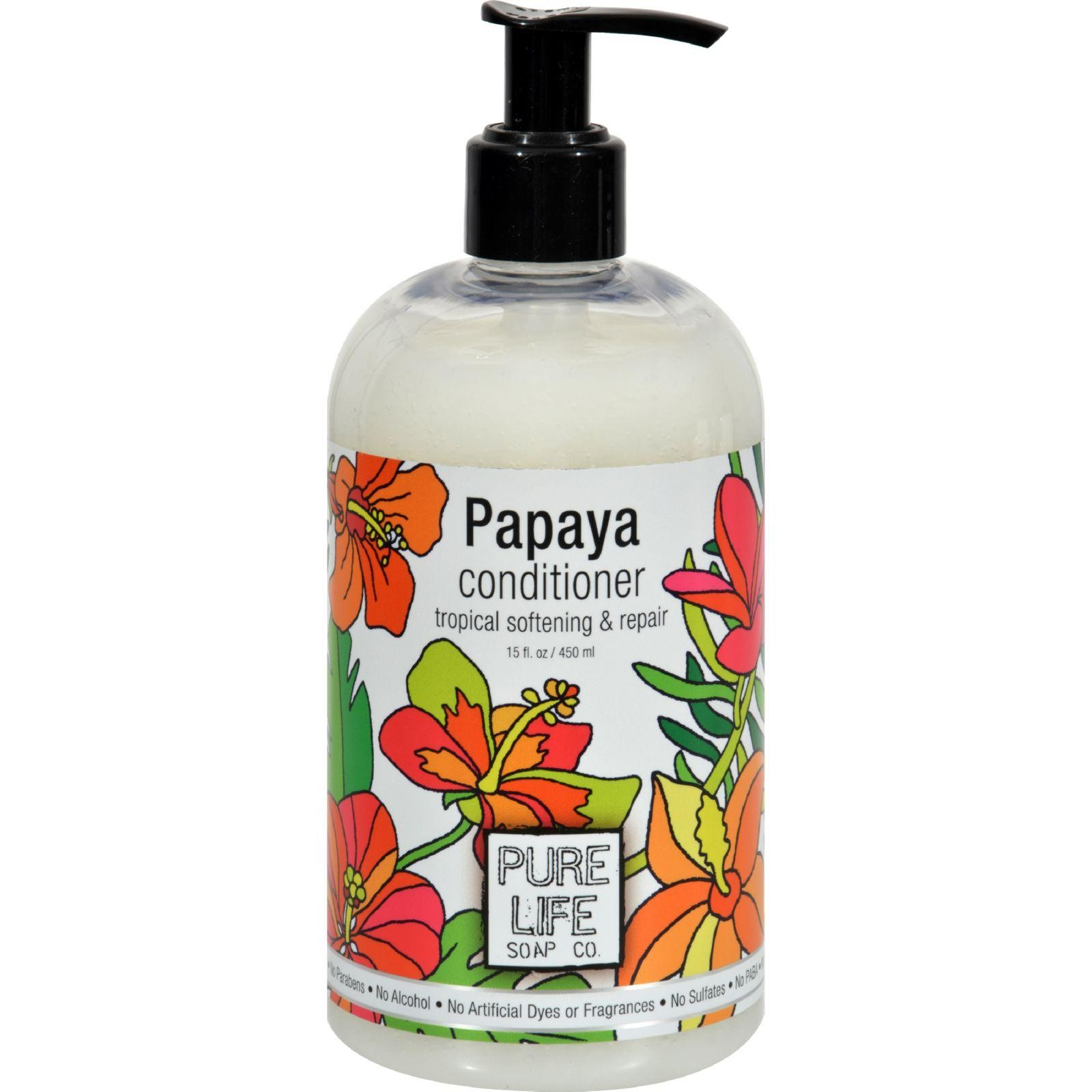 Pure Life Conditioner Papaya   14.9 Fl Oz by Pure Life