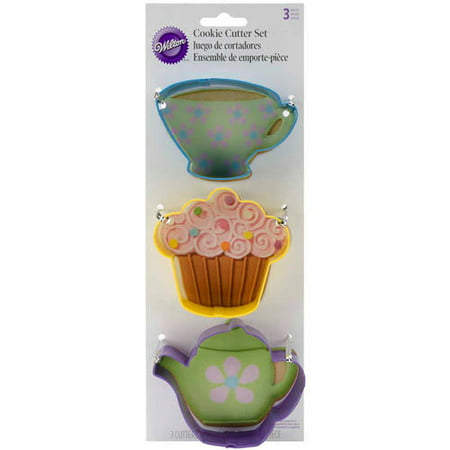 Wilton Cookie Cutter Set, Tea 3 ct. 2308-0092