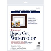 """Strathmore Watercolor Paper 500 Series Cold-Press, 11"""" x 14"""", 6 Sheets"""