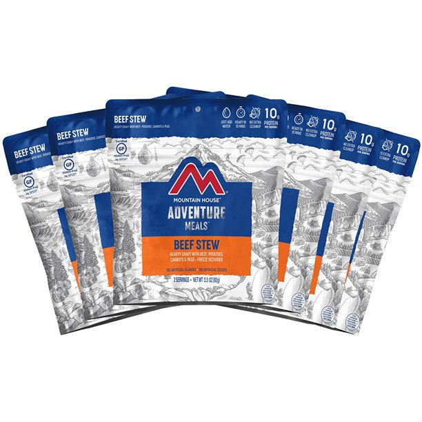 Mountain House Beef Stew | Freeze Dried Backpacking ...