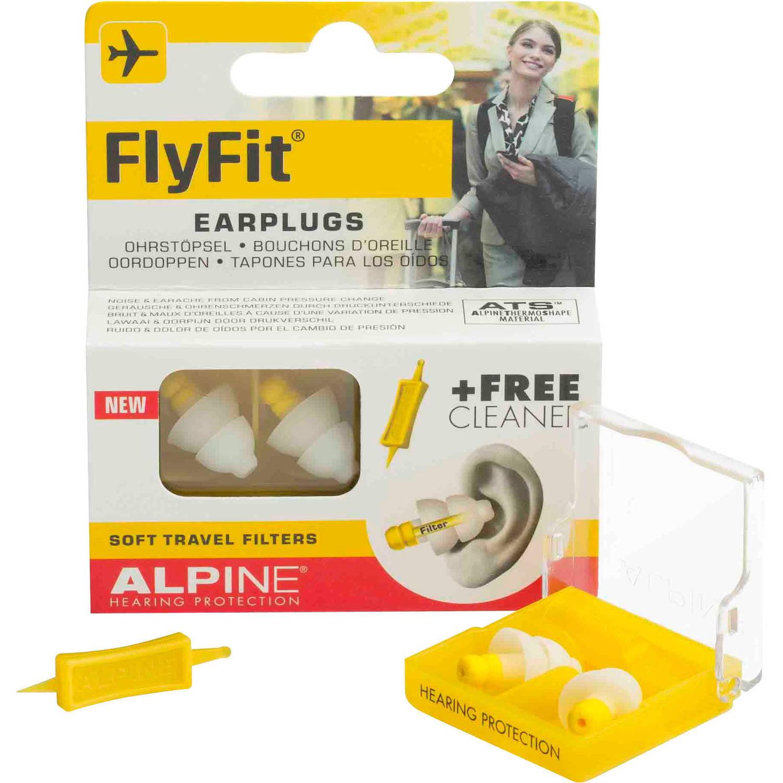 Alpine FlyFit Earplugs, 1 pr