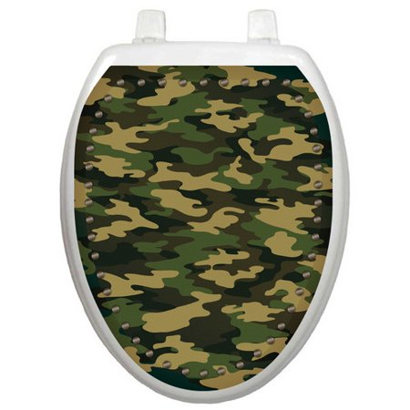 Toilet Tattoos Youth Army Camouflage Toilet Seat - Camouflage Tattoos