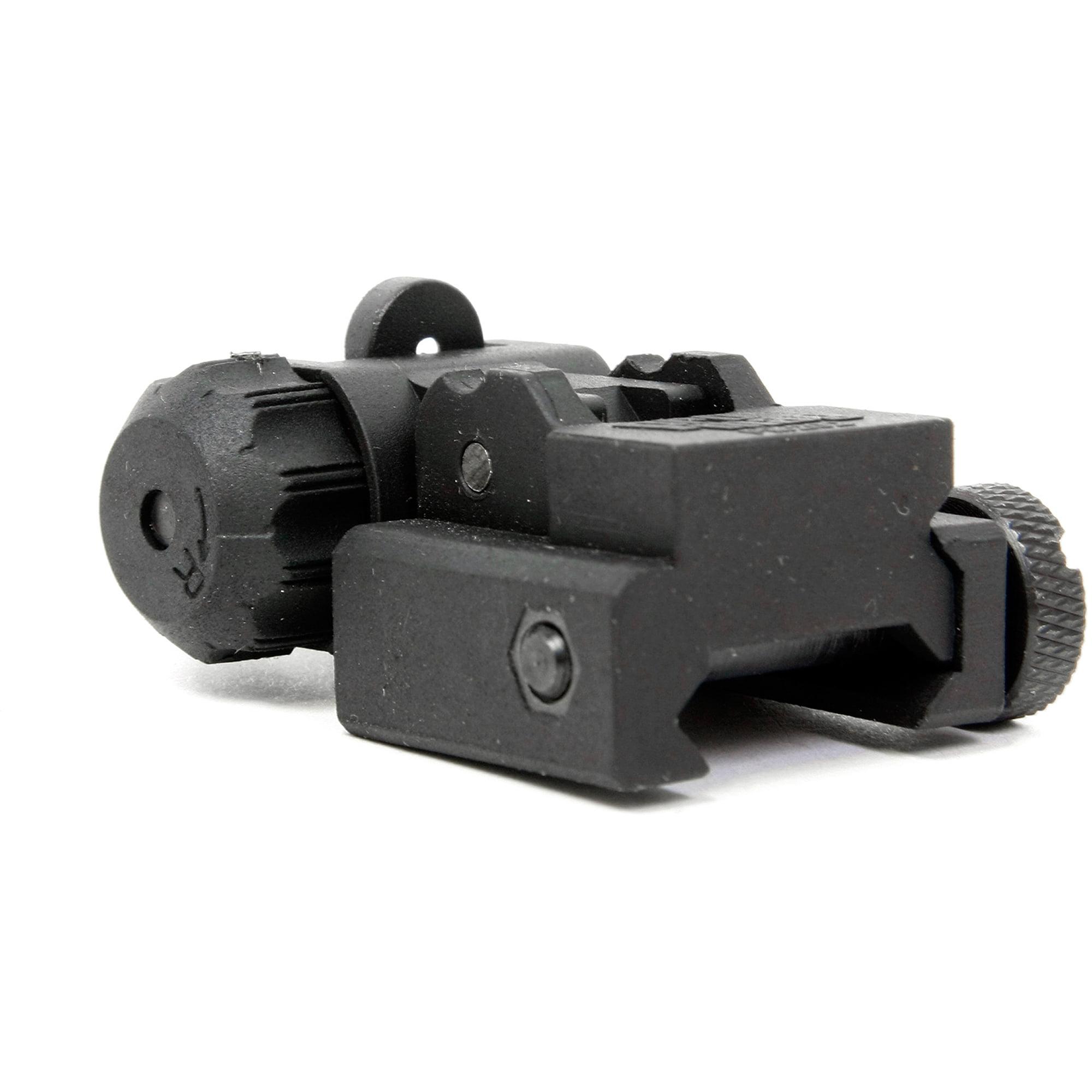 ProMag AR15 Flip Up A2 Dual Aperture Rear Sight Blk Polymer