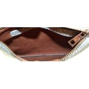 ee65fde1a314 Michael Kors NEW White Ivory PVC Signature Fanny Pack Waist Purse Image 3  of 3