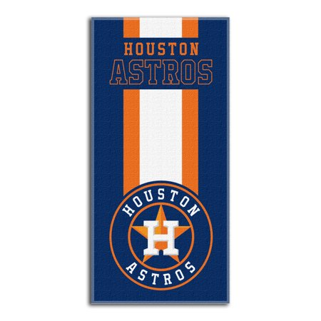 - Astros   OFFICIAL Major League Baseball, Zone Read 30x 60 Beach Towel - by The Northwest Company