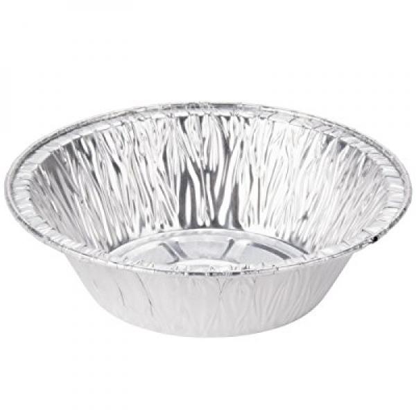 Aluminum Foil Pot Pie Pans from Bakers Mark (25, 5 inch diameter) by