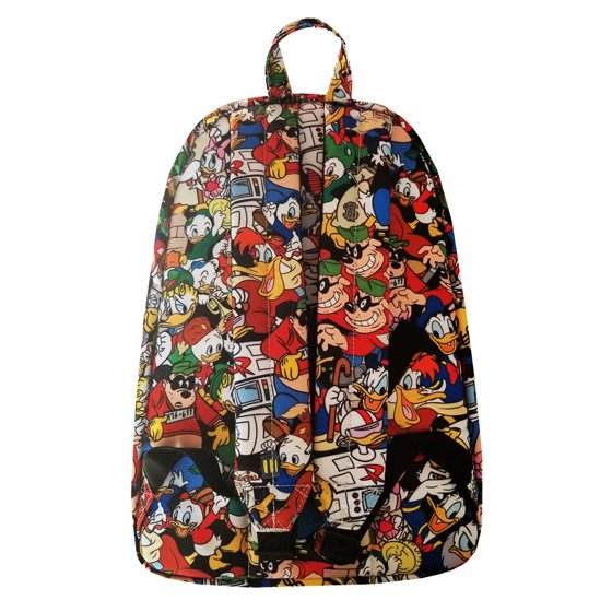 a325fd1e3a ... zippered closures and interior laptop sleeve when you re out there  making Ducktales. Wooo oooo! Loungefly Lilo All Over Print Backpack Standard