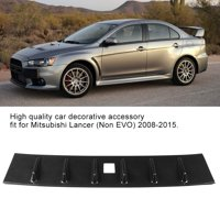 YLSHRF Carbon Fiber Texture Car Rear Roof Trunk Spoiler Wing Lip Fit for Mitsubishi Lancer 2008-2015, Rear Wing Lip,Rear Trunk Spoiler