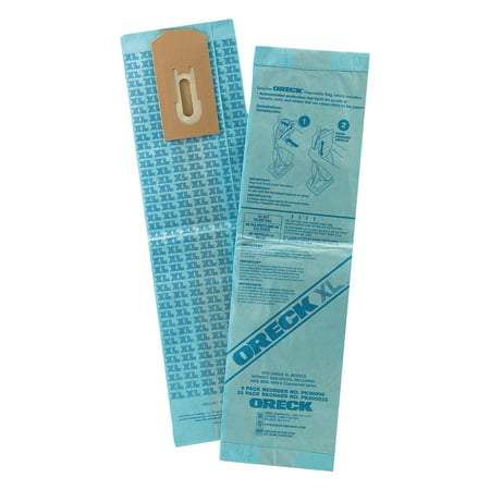 Vacuum Bags Standard Filtration - Oreck Commercial Disposable Vacuum Bags, XL Standard Filtration, 25/Pack
