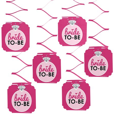 bride to be bridal shower classy bachelorette party hanging decorations 6