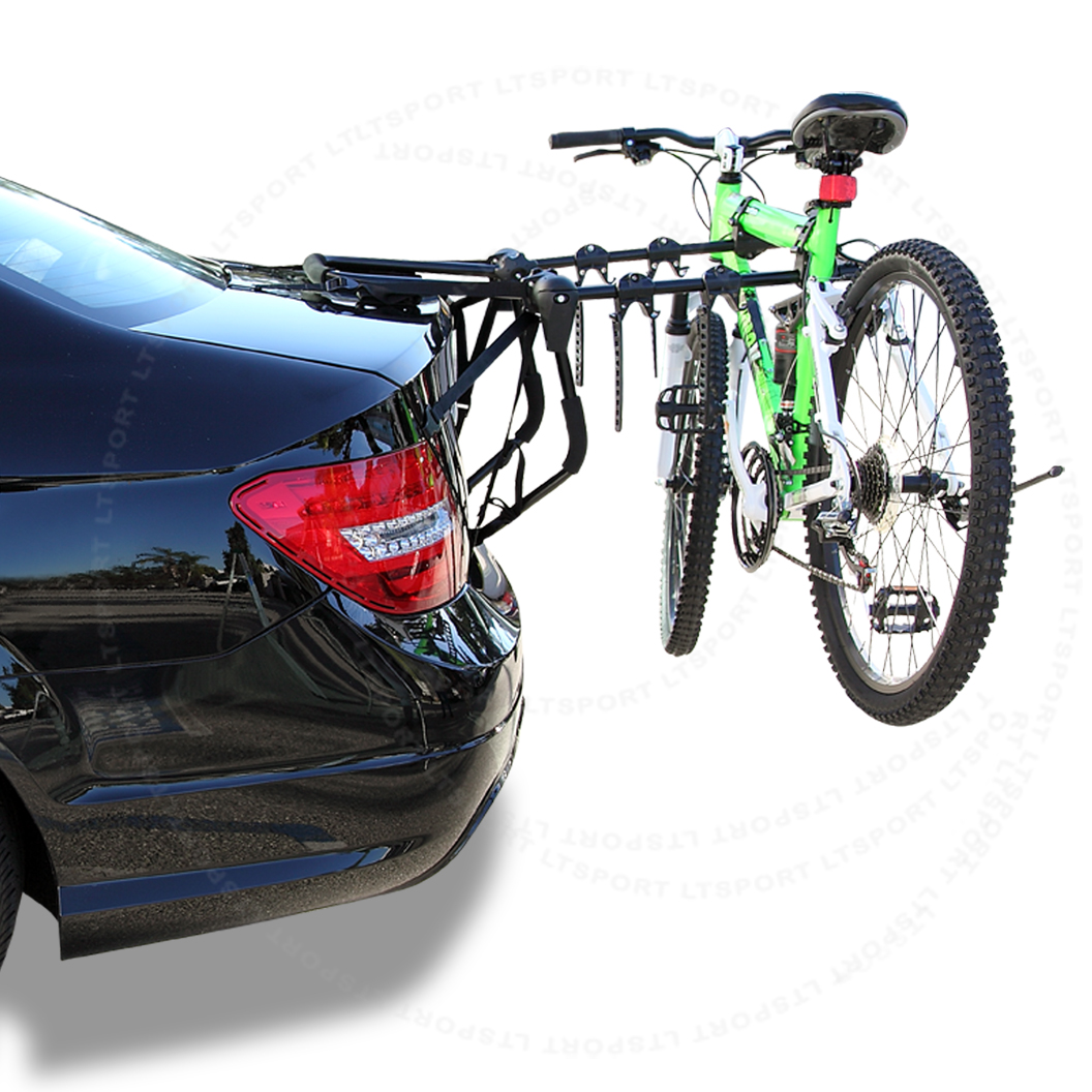LT Sport® Brand Fit 91-83 gmc 3-bike rear trunk mount rack car sport bicycle carrier - Free Shipping