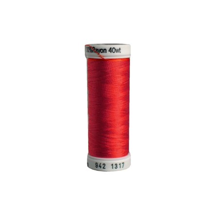 Poppies Thread - Sulky Rayon Thread 40wt 250yd Poppy Red