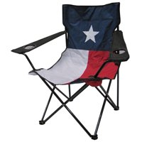Leigh Country Outdoor Chair With Texas Flag Multi Colored