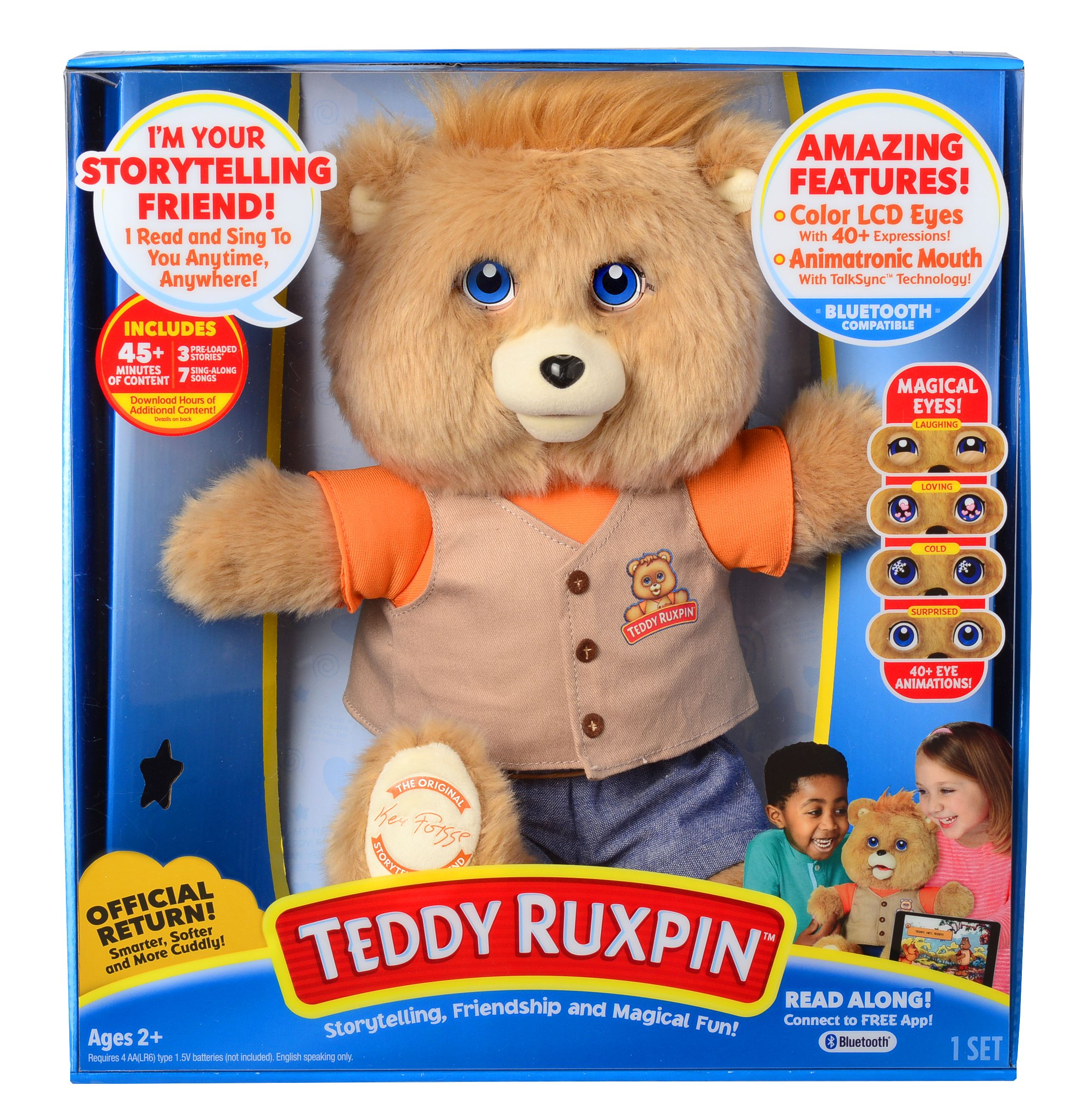 Teddy Ruxpin - Original Storytelling Friend