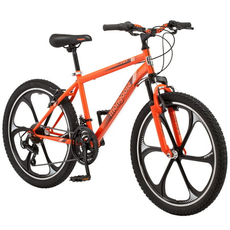 Mongoose Alert Mag Wheel mountain bike, 24-inch wheels, 7 speeds, (Best Womens Mountain Bike)