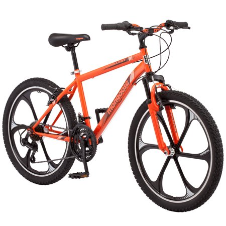 Mongoose Alert Mag Wheel mountain bike, 24-inch wheels, 7 speeds,