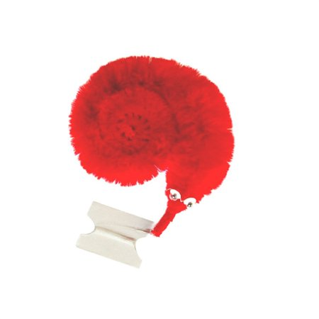 Red Plush Fuzzy Dice (Twisty Trick Toys Plush Magic Worm Fuzzy)