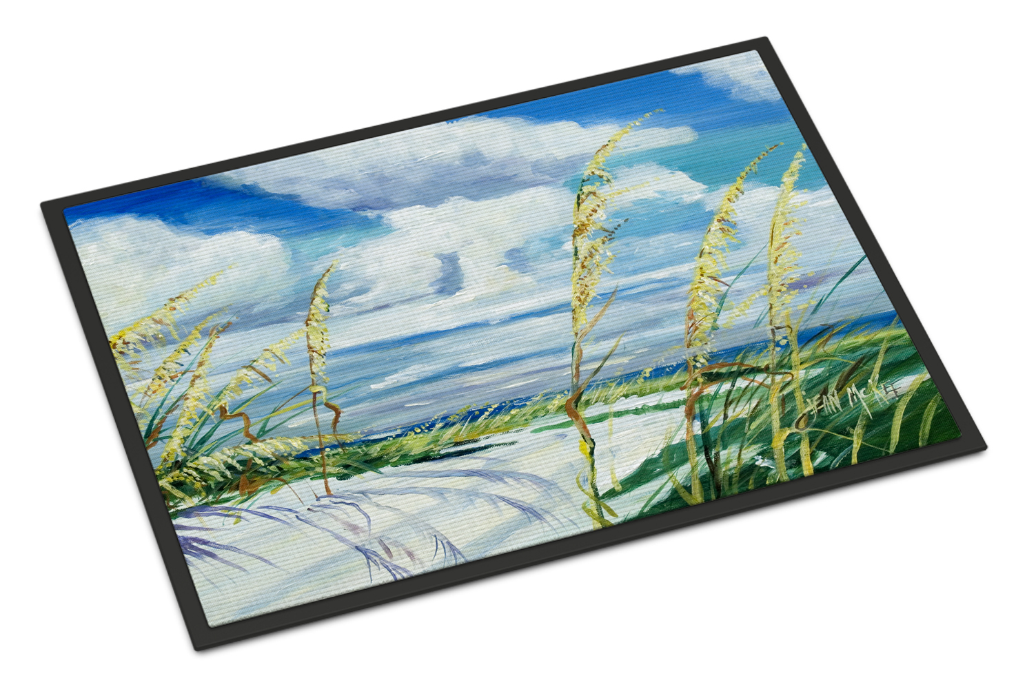 Sea Oats Doormat by Caroline's Treasures