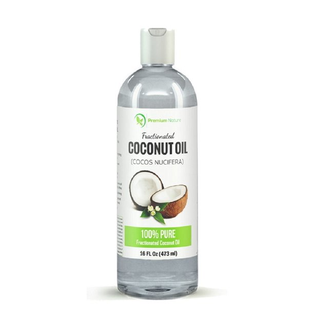 Fractionated Coconut Oil 16 Oz Skin Moisturizer Natural Carrier Oil Therapeutic Odorless By Premium Nature Walmart Com Walmart Com
