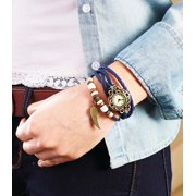 Leather Charm Bracelet Watches -