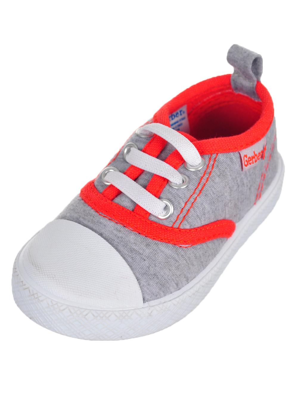 Gerber Boys' First Walker Low-Top Sneakers (Sizes 3 - 6)