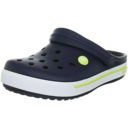 szczegółowy wygląd 100% wysokiej jakości stabilna jakość Crocs - Crocs Boy's Kids Crocband II.5 Navy/Citrus Ankle ...
