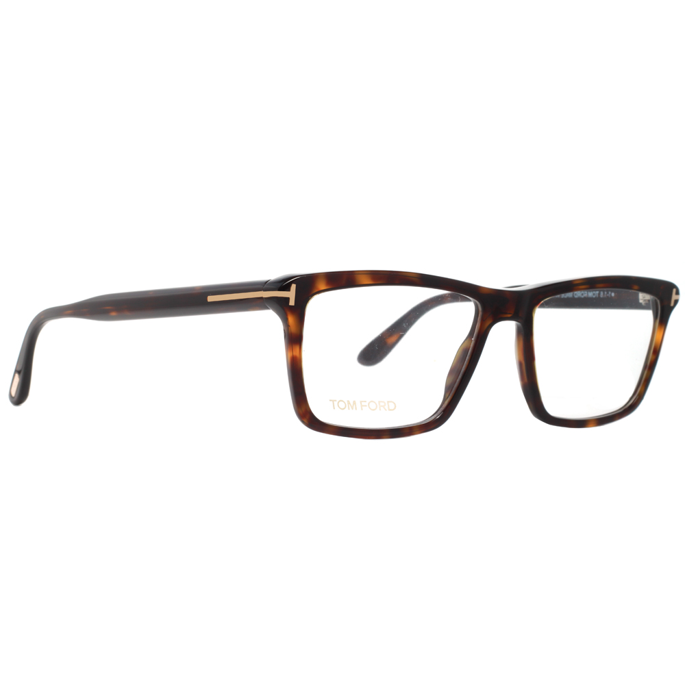 212584dafd3 Tom Ford TF5407 052 54mm Dark Havana Brown Rose Gold Eyeglasses -  Walmart.com