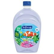 Softsoap Liquid Hand Soap Refill, Aquarium Series - 50 Fluid Ounce