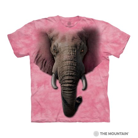 3e1035aa62060 The Mountain ELEPHANT FACE Adult Unisex T-Shirt