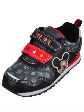 62a60aeef7 Product Image Disney Mickey Mouse Boys  Light-Up Sneakers (Sizes 6 ...