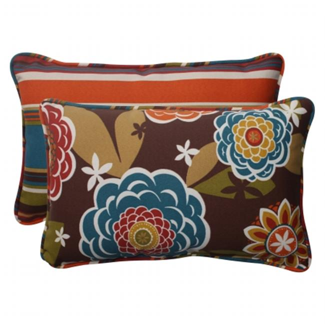 Pillow Perfect 499895 Annie|Westport Reversible Rectangle Throw Pillow (Set of 2) - image 1 of 1