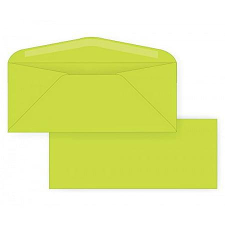 #10 Regular Envelope - Astrobright - 24# Terra Green (4 1/8 x 9 1/2) - Business Color Series (Box of 500)