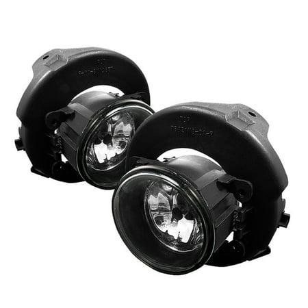 Spyder Nissan Pathfinder 05-11 / Nissan Frontier 05-10 ( Not Fit Chrome Bumper ) / Sentra 09-10 OEM Fog Lights w/Switch - Clear